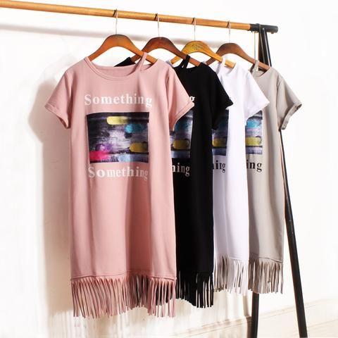 Kawaii Sweet Pastel Cotton Casual Simple Dress