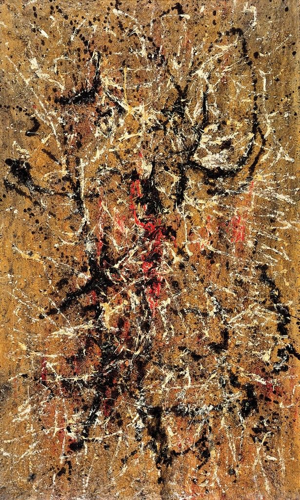 Untitled, 1958 Oil on canvas 63 4/5 × 38 1/5 in 162 × 97 cm