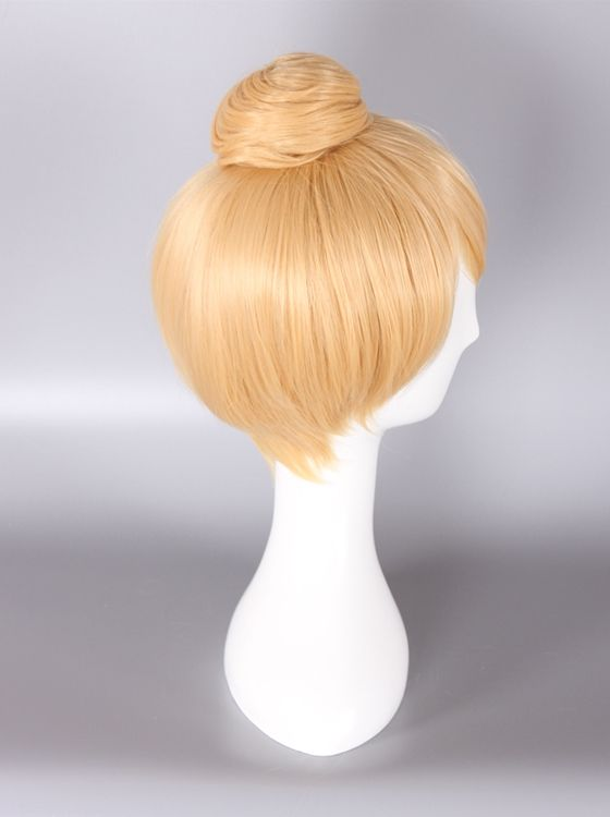 Princess Tinker Bell Wig Blonde  Color Cosplay Wig