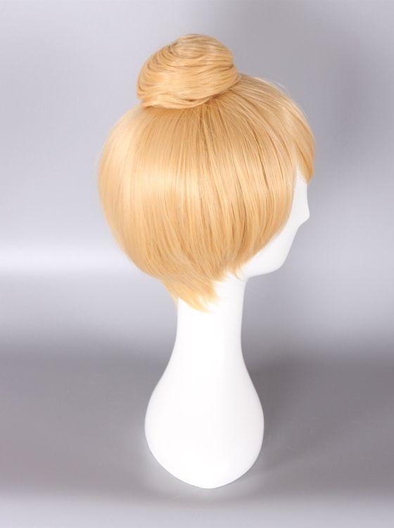 Princess Tinker Bell Wig Blonde  Color Cosplay Wig
