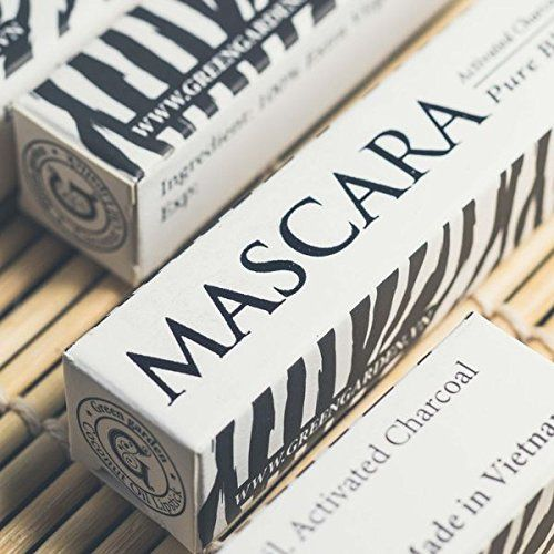 Green Garden Coconut Mascara - 0.35 ft oz - with Activated Charcoal. A shiny, all natural mascara with coconut oil. Mixed with activated charcoal for a natural dark shade. Made with extra virgin coconut oils, 100% organic ingredients. Coconut oil might solidify in cold weather. For all skin types. Won't clog the pores of your skin. Visibly making your eyelashes softy and shiny. Nurture and moisturize lashes, prevent lashes from breaking or falling out, and promote growth. Free sample on…