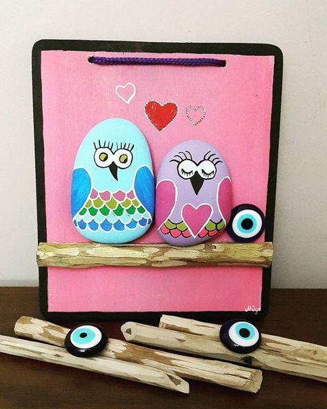 İşte bitti aşık baykuşlar sevgililer gününde kime gidecek ☺(müge'nin renkli…