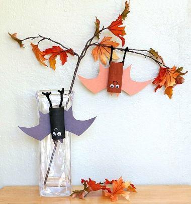 Lógó denevérek WC papír gurigából - Halloween dekoráció / Mindy -  kreatív ötletek és dekorációk minden napra