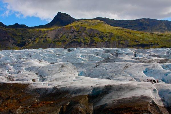 Glacier Fields of Breiðamerkurjökull