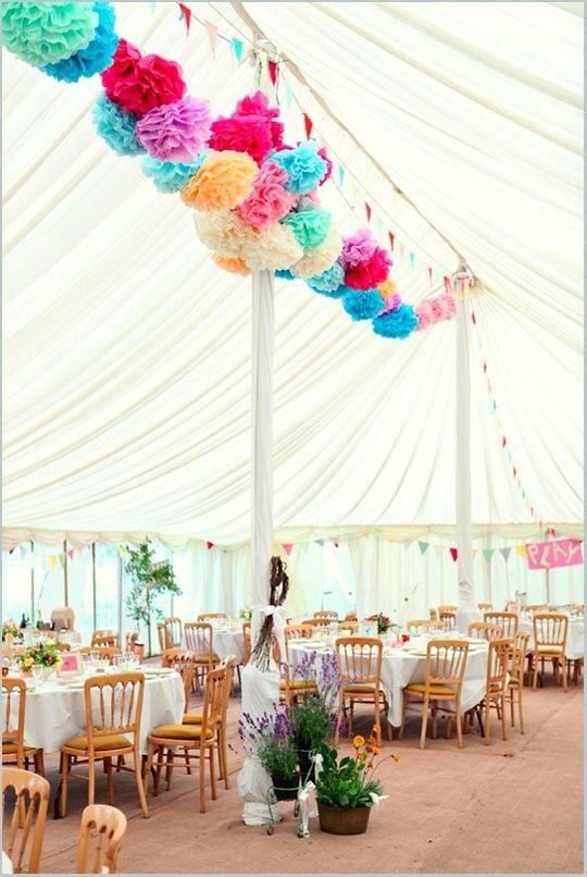 Weddings: ZsaZsa Bellagio - carnival wedding decor