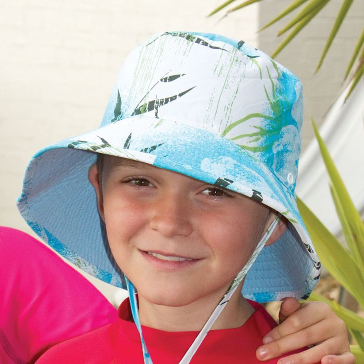 Reversible Microfibre Swim Hat Prints on one side; plain on the other in this best selling swim hat. Toggle under chin for security with adjustable head size. Sizes: 52cm, 55cm or 57cm. RRP: $27.95    Shop: https://rigon-headwear.myshopify.com/collections/kids/products/b715b-reversible-microfibre-swim-hat