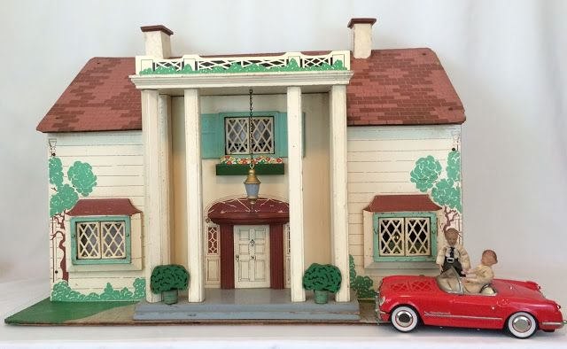 I Couldn T Resist This Vintage Colonial Dollhouse From The: RICH/KEYSTONE DOLLHOUSES: A Collection Of Ideas To Try