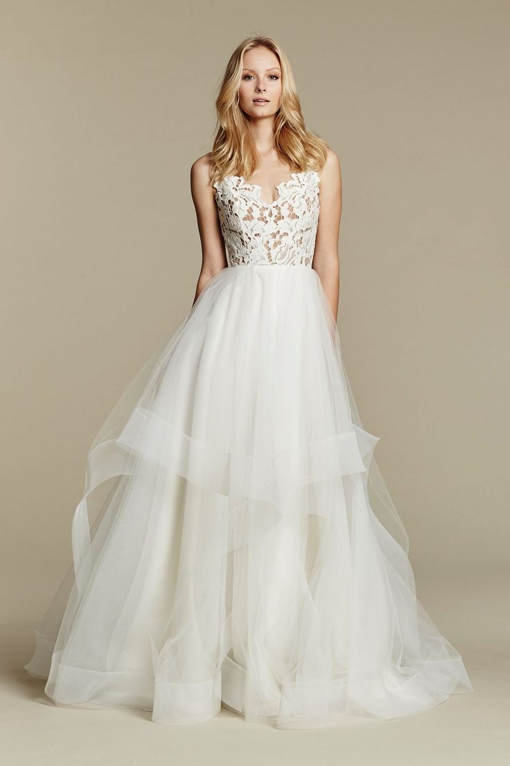 80 best wedding dresses images on pinterest wedding dressses schaffers in des moines iowa and in scottsdale arizona carries blush by blush by hayley paige style 1600 halo ivory lace and tulle bridal ball gown ombrellifo Gallery