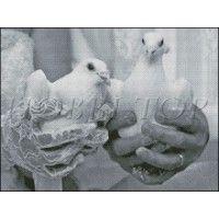 """Схема вышивки  """"Свадьба"""""""