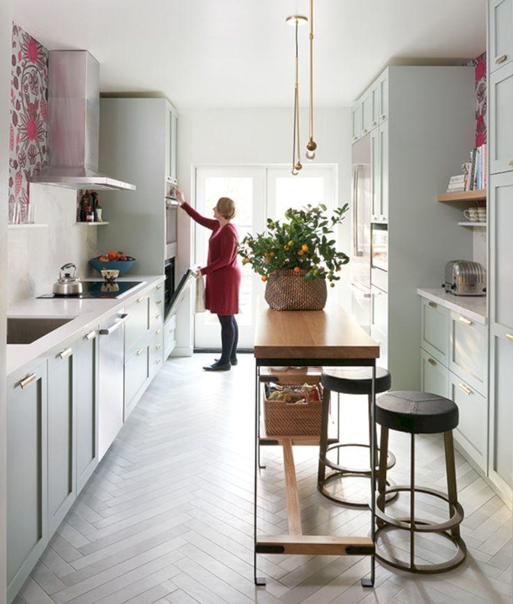 Best 25+ Long Narrow Kitchen Ideas On Pinterest