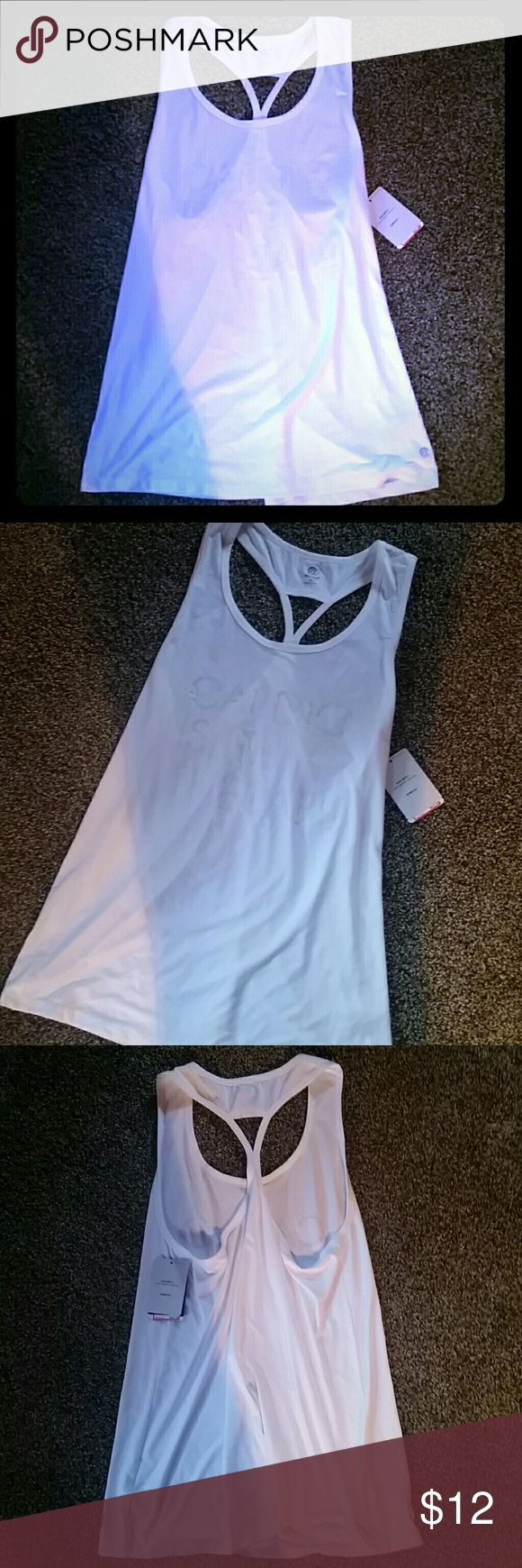 C9 Champion Duo Dry Workout Tank Brand new w/ tags Champion workout tank!!  Contains Duo Dry technology to help keep you cool & wick away moisture during your workout sessions.  91% Polyester  9% Spandex Champion Tops