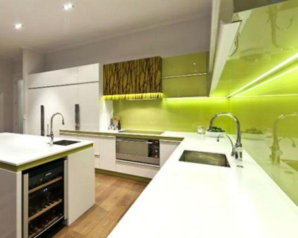 Die besten 25+ Under cabinet kitchen lighting Ideen auf Pinterest - unterbauleuchte küche mit steckdose