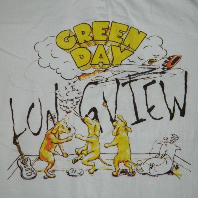 Vtg Green Day Longview 90s Promo T Shirt Mint XL Concert Tour Tee Dookie | eBay