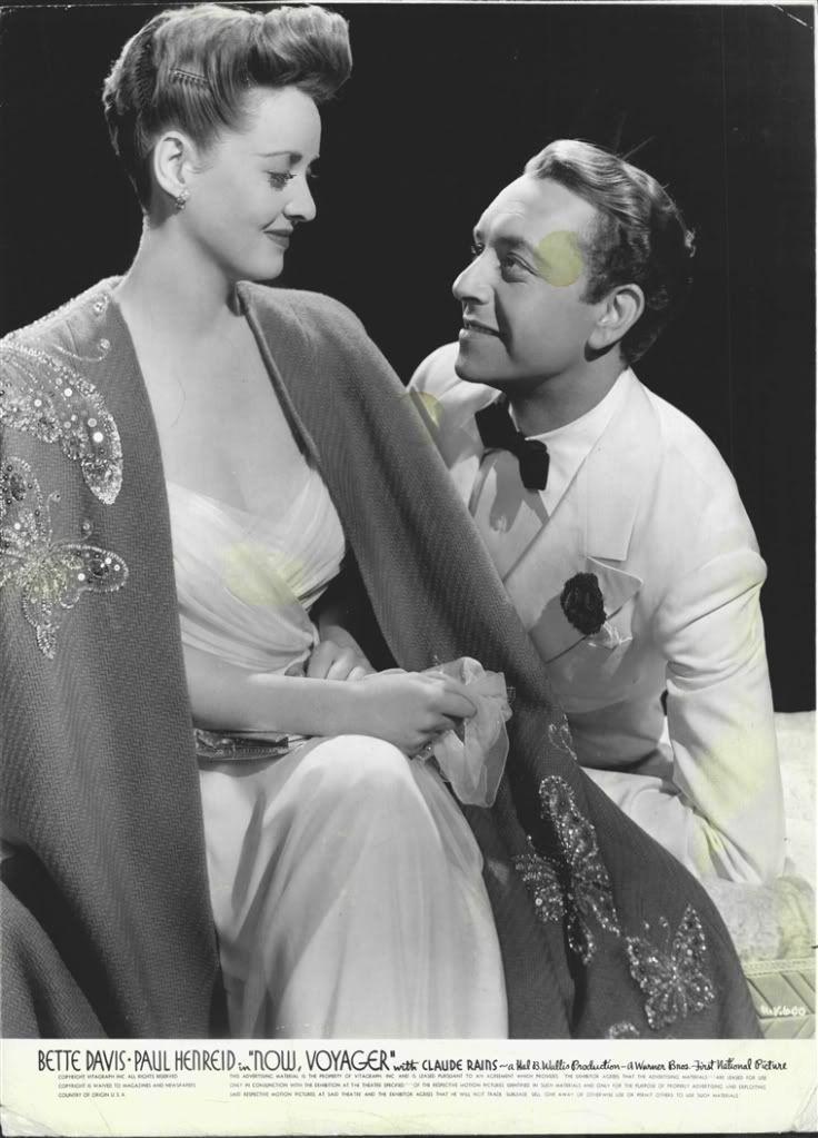 Bette Davis and Paul Henreid - Now Voyager 1942.