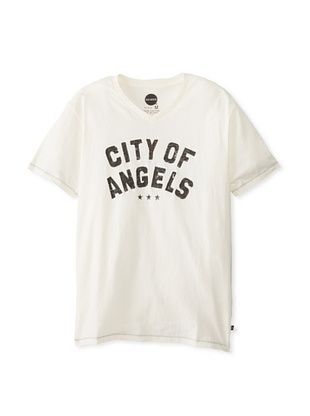 51% OFF Blue Marlin Men's City Of Angels T-Shirt (Off white)