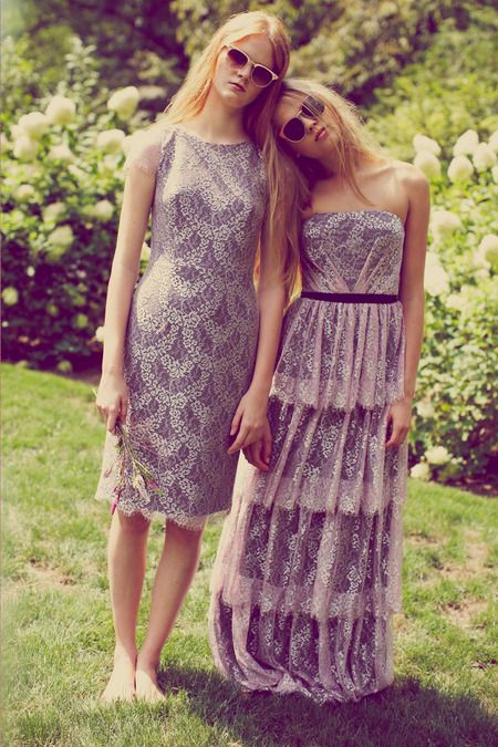 Erin Fetherston | Spring 2014 Ready-to-Wear Collection | Style.com -- one on the right could be nice