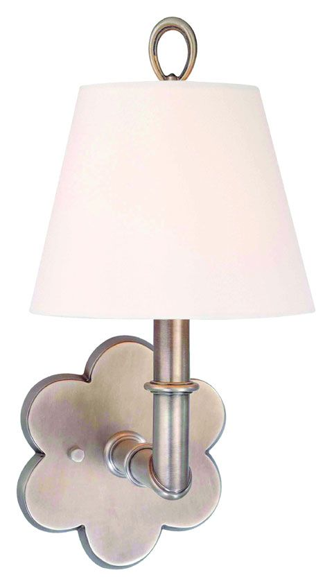Hudson Valley 921 Pomona Flower Backplate 13 Inch Tall Transitional Wall Sconce Light - HUD-921