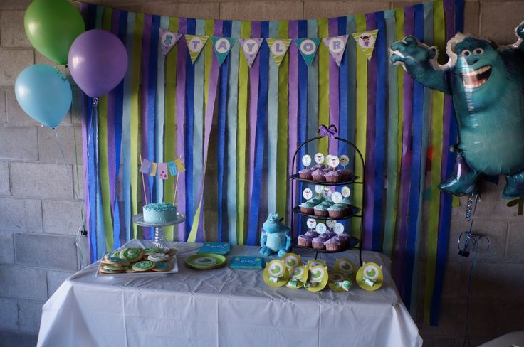 monsters inc birthday party