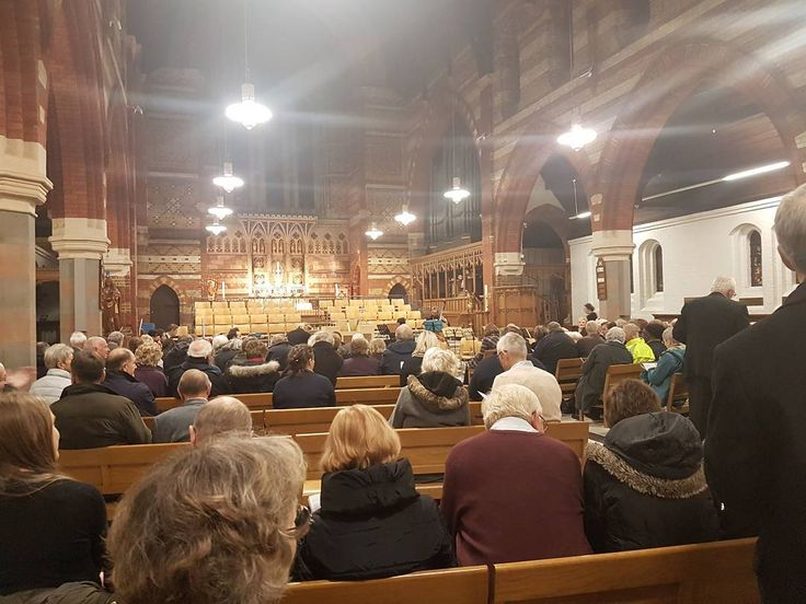 My #mum #sings as an #alto in and is the #music #librarian for @KingstonOrpheus #Kingston #Orpheus #choir. They're #performing #Bach's #Christmas #Oratorio in #Surbiton Kingston Upon #Thames SW #London. I was roped in to help set up the stage  dismantle after the #concert.