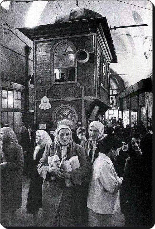 Kapalıçarşı - 1972 Fotoğraf : Ara Güler