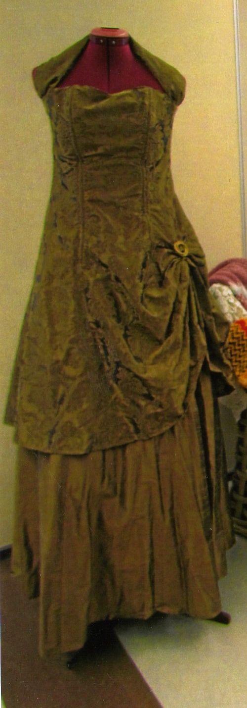 Ma confection...robe de bal du secondaire à Laura!
