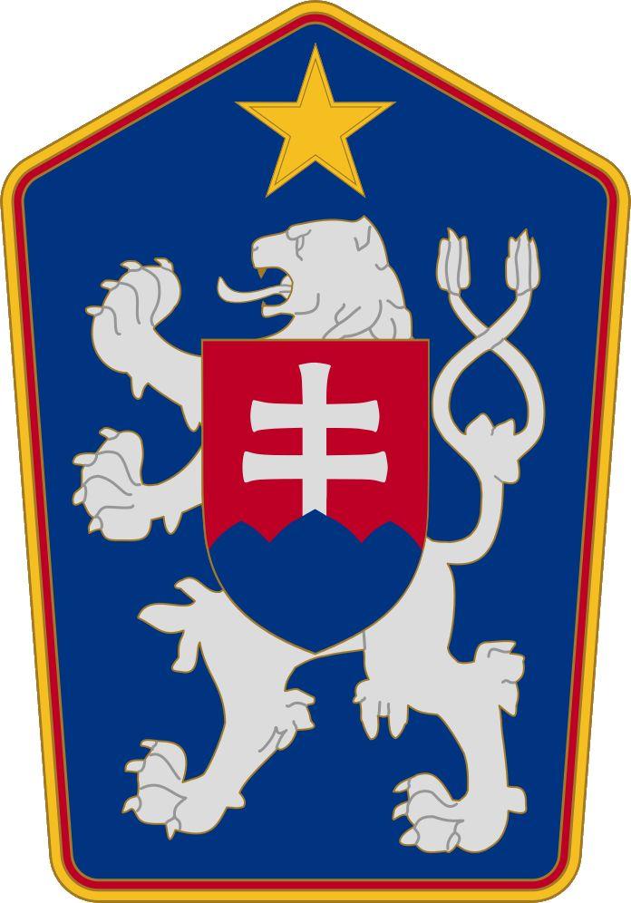 Czechoslovakian coat of arms