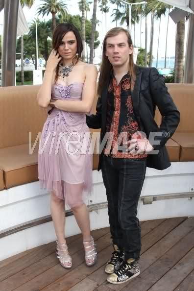 Melissa Mars & Christophe Guillarme @ Festival Shopping Cannes 5/04/12  © Corbis