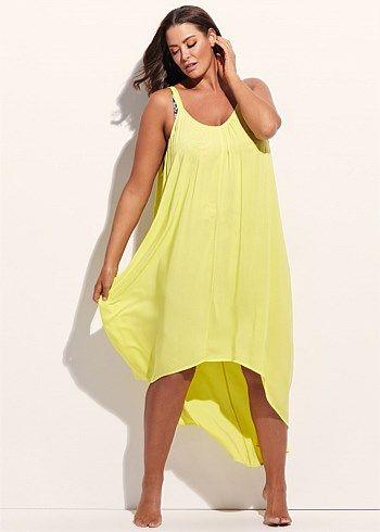 Tara Summer Dress #takingshape #plussize #swim