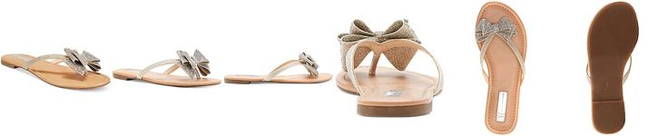 INC International Concepts Women's Mabae Bow Flat Sandals, Only at Macy's