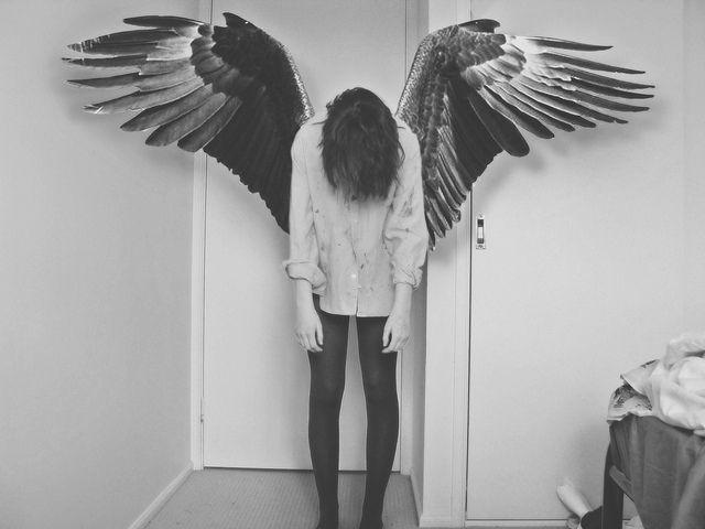 cramped: Flying, Photos Ideas, Angel Wings, Character Inspiration, Self Portraits, Fallen Angel, Guardians Angel, Art, Dark Angel