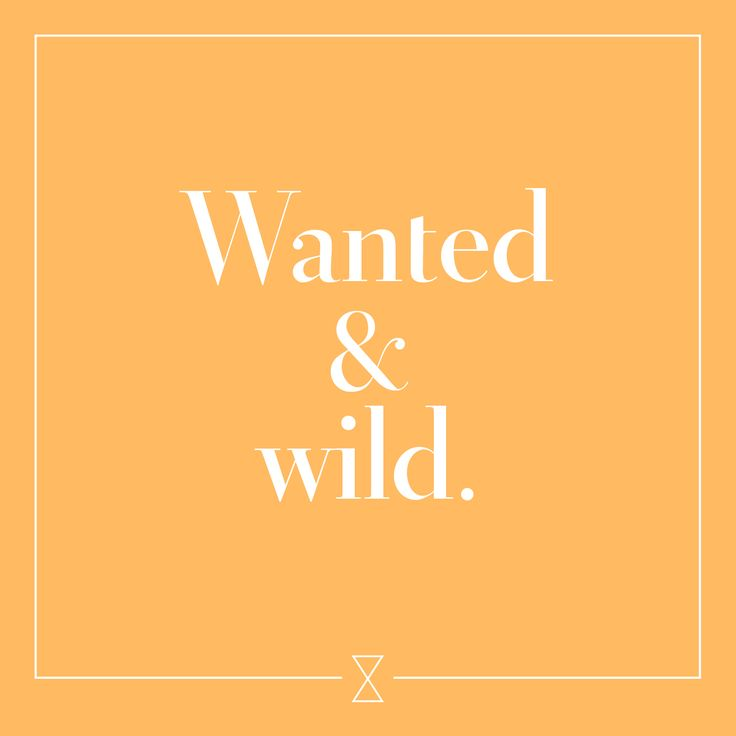 #wanted #wild #matters