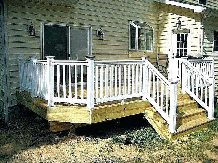 pre fab deck/dock Google Search Deck railings, White