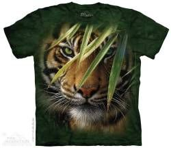 The Mountain Kids Big Cat T-shirt | Emerald Forest Tiger