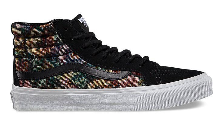 "织棉Slim:Vans Classics ""Tapestry Floral"" 秋季系列"