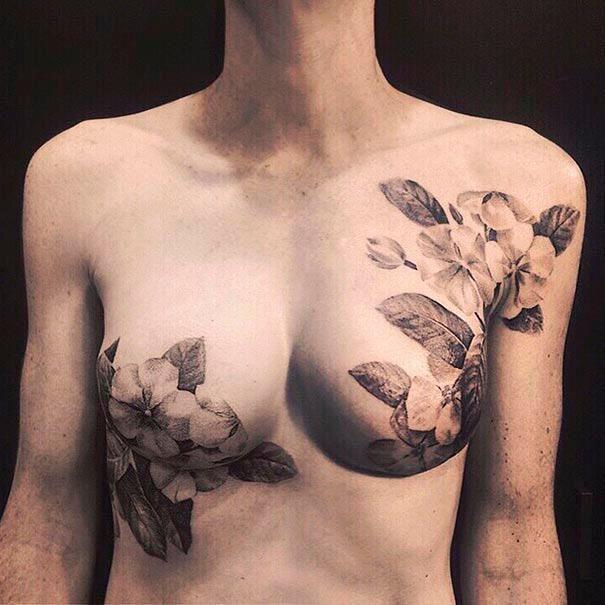 #Tattoos für #Brustkrebs