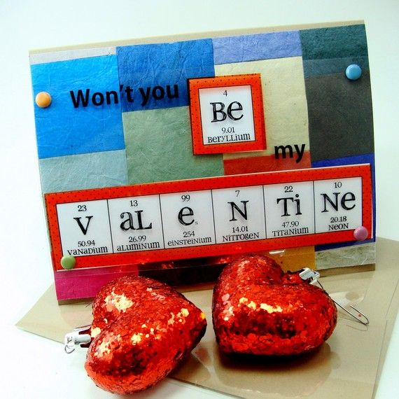 82 best images about Valentines Day Science – Chemistry Valentines Day Card