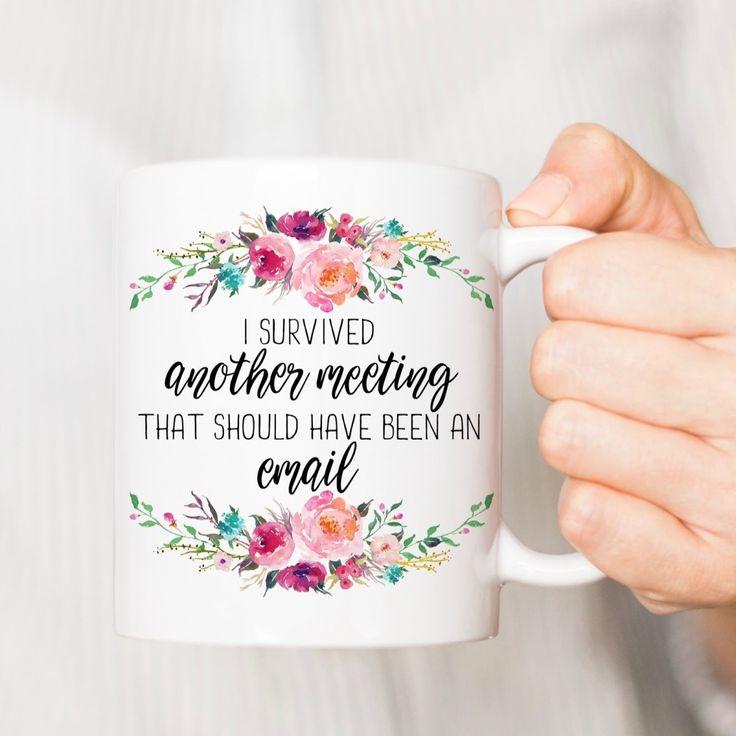 Funny Office Coffee Mug   5 Styles