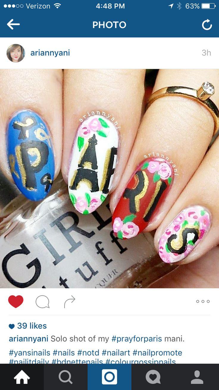 8 besten Summer Nails Bilder auf Pinterest   Süße nägel, Nageldesign ...