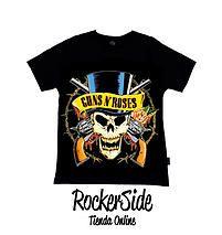 Camiseta Guns and Roses talla 2. $15.000 Adquierela en www.rockerside.com Envíos a todo Colombia, aceptamos todos los medios de pago