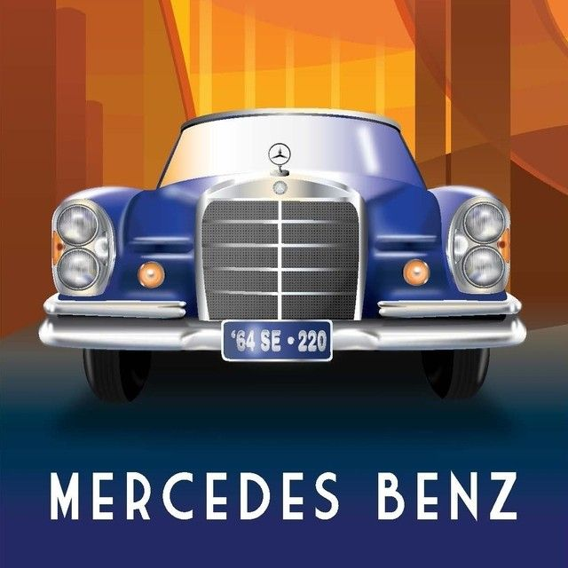 357 best images about mercedes benz classic vehicles on for Mercedes benz poster