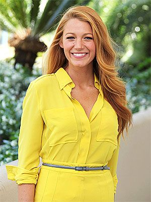 Blake Lively hair is perfection.