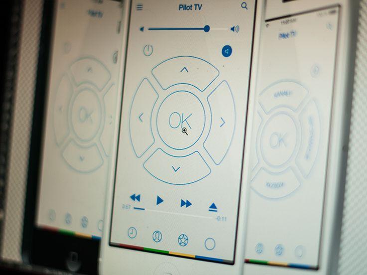 Pilot TV app by Michal Galubinski