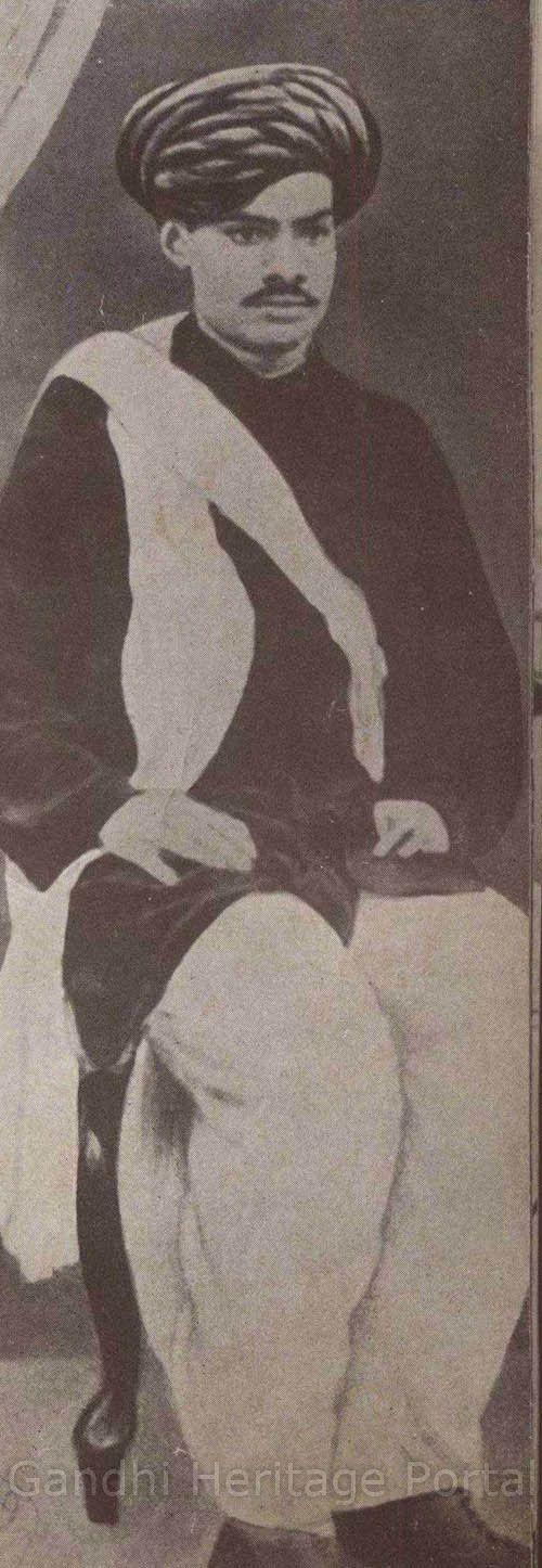 Raichandbhai Mehta who exercised a marked influence on Mahatma Gandhi's ideas