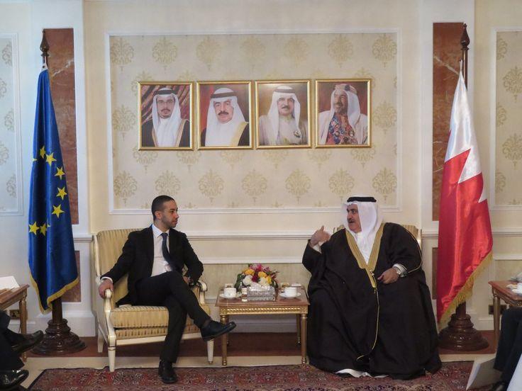 EU delegation in Bahrain facilitated by EGIC