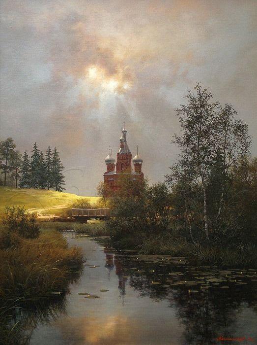 Художник Колпашников Дмитрий