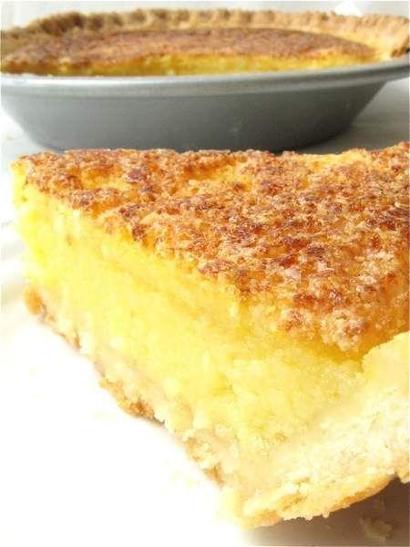 Recipe: Lemon Chess Pie