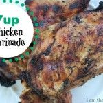 This 3-Ingredient Teriyaki Chicken Marinade is easy to make & frugal, too! #chicken #marinade #frugalliving