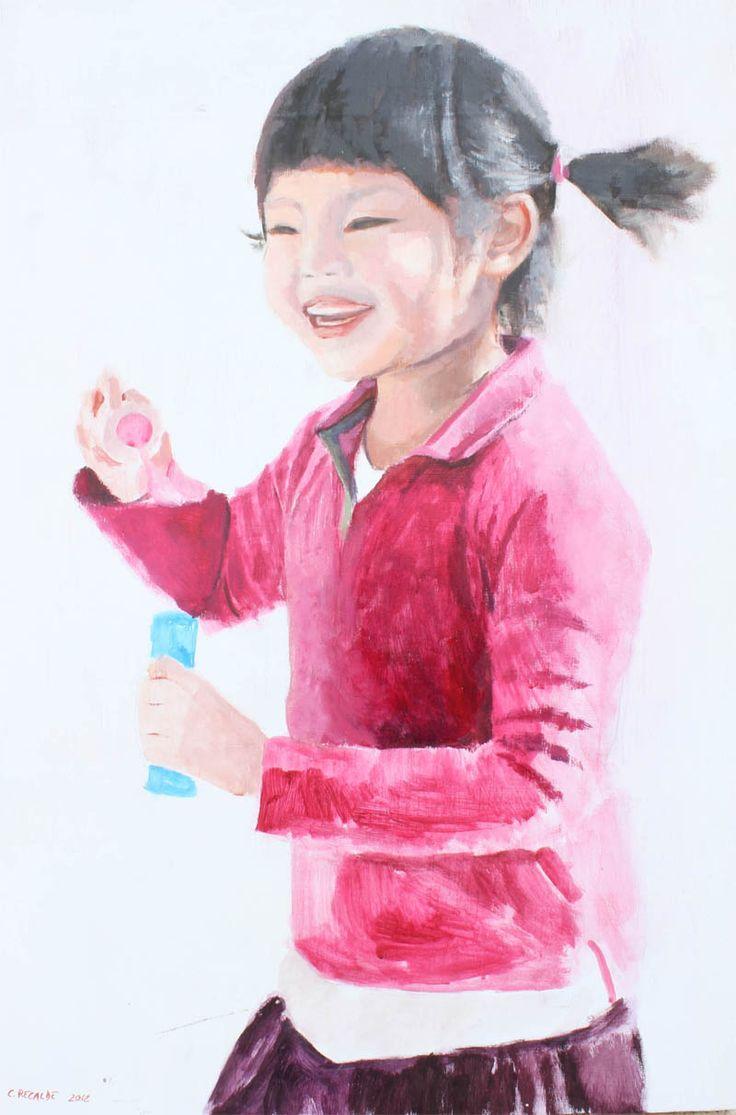Pintado by Cristina Recalde. El rincón del arte