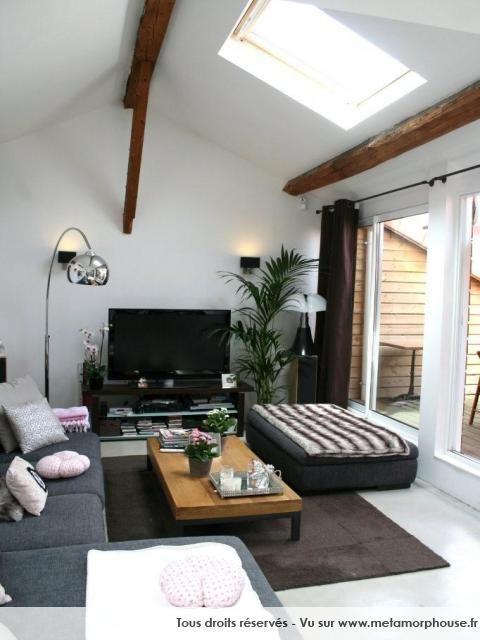 photos dcoration de salon salle manger modernedesign loft blanc de spirit - Model Dedecoration Desalon Moderne