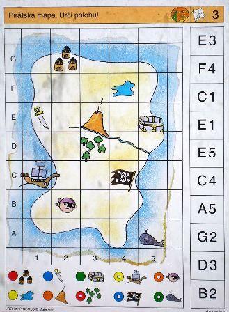 Soubor Logico Piccolo - Geometrie Geometrie 2 - Představivost - Orientace - Pohyb  Určeno pro děti od 6 - 8 let.  Budování geometrických představ a geometrické myšlení je založeno na